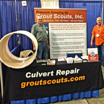Grout Scouts - NACE trade show in Baton Rouge